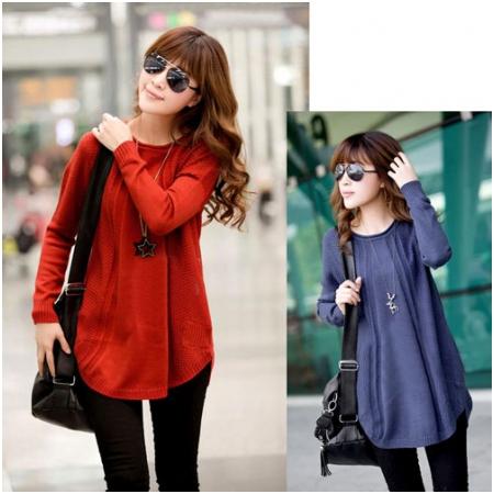 áo len bầu thời trang HC1326