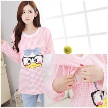 Bộ quần áo bầu kết hợp cho con bú Sunny MB6606-1