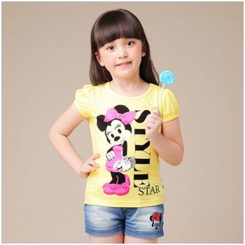 Combo 2 áo thun Sunny girl xinh xắn cho bé M921