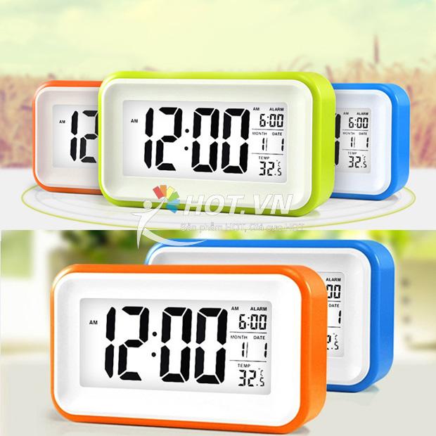 Đồng Hồ B 225 O Thức Cảm ứng Touch Alarm C 243 Thiết Kế Nhỏ Gọn