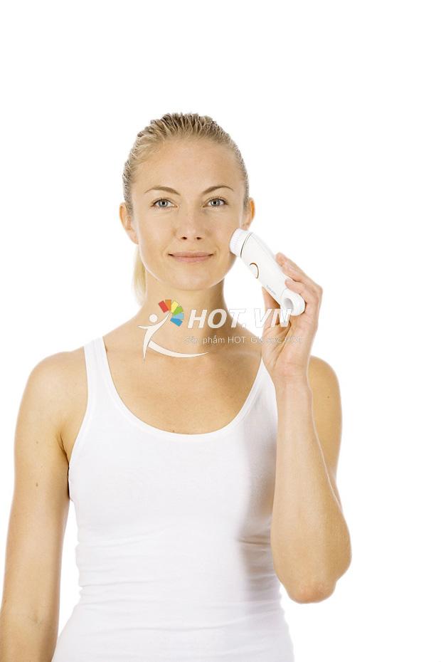 Máy massage rửa mặt tẩy tế bào chết